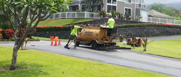 sealcoating maintains the life of your asphalt investment