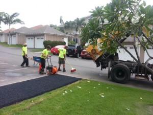 patching is an important part of proper asphalt maintenance