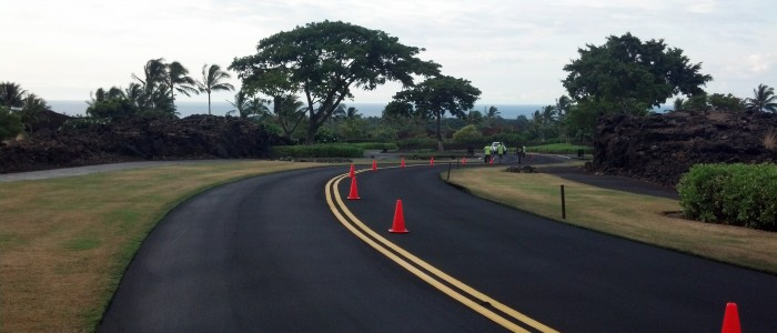 asphalt stripe painting hawaii