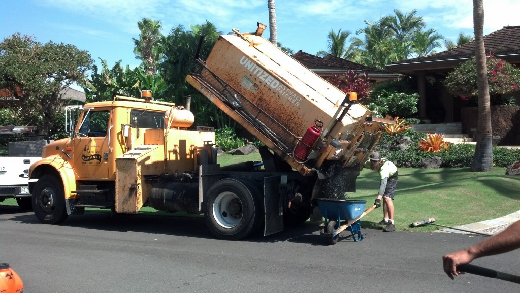 asphalt repair pothole filling asphalt patching